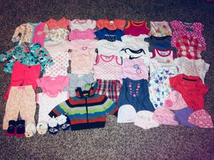 Size 0-3 months baby girl clothing for Sale in Upper Marlboro, MD