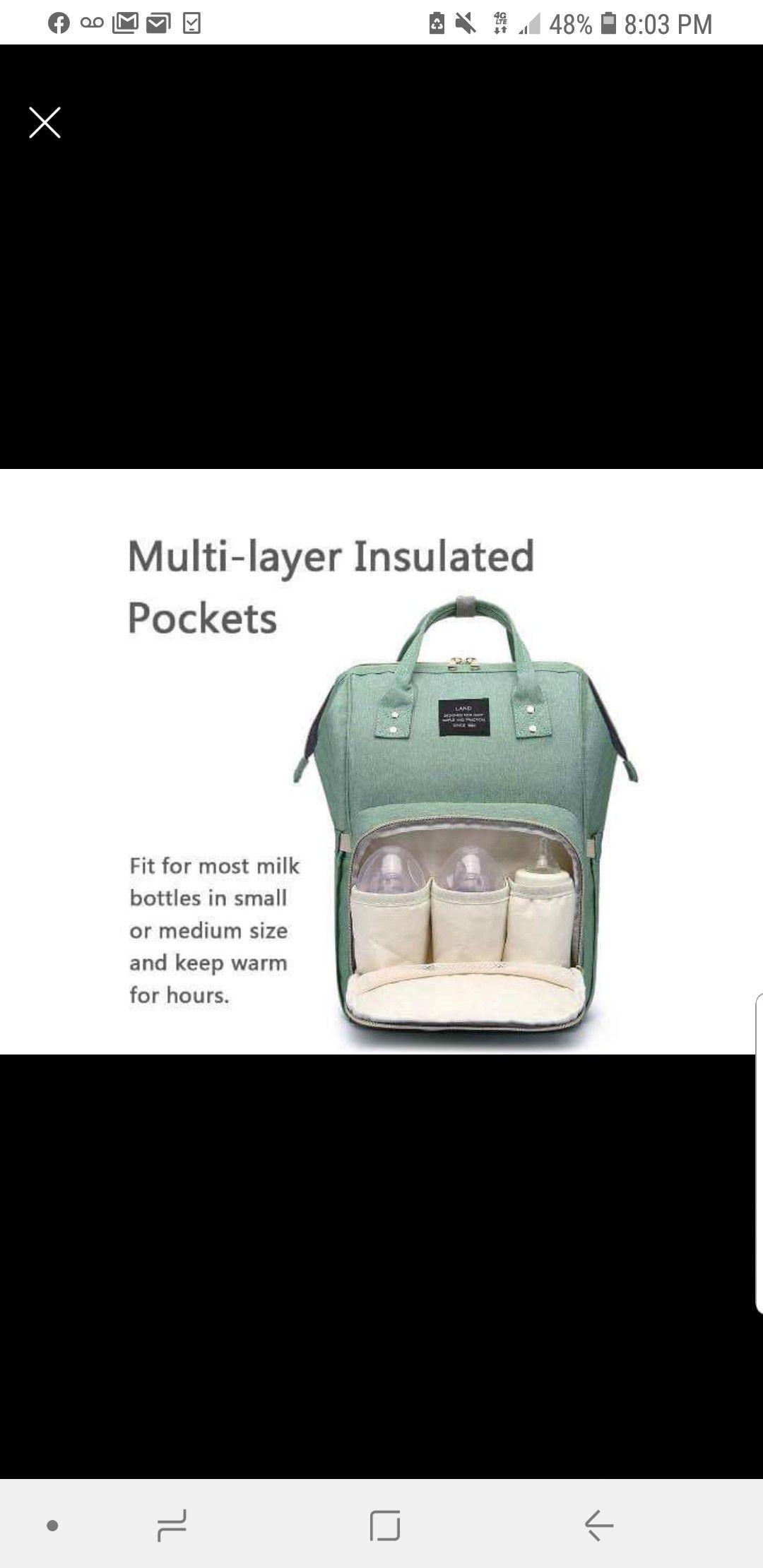 NEW diaper backpacks