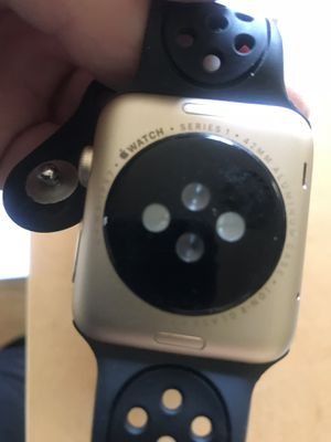 Gold aluminum Apple Watch series 2 with extras for Sale in Washington, DC