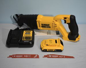 Photo DeWALT 20V-Max cordless Reciprocating Saw + Battery and Charger