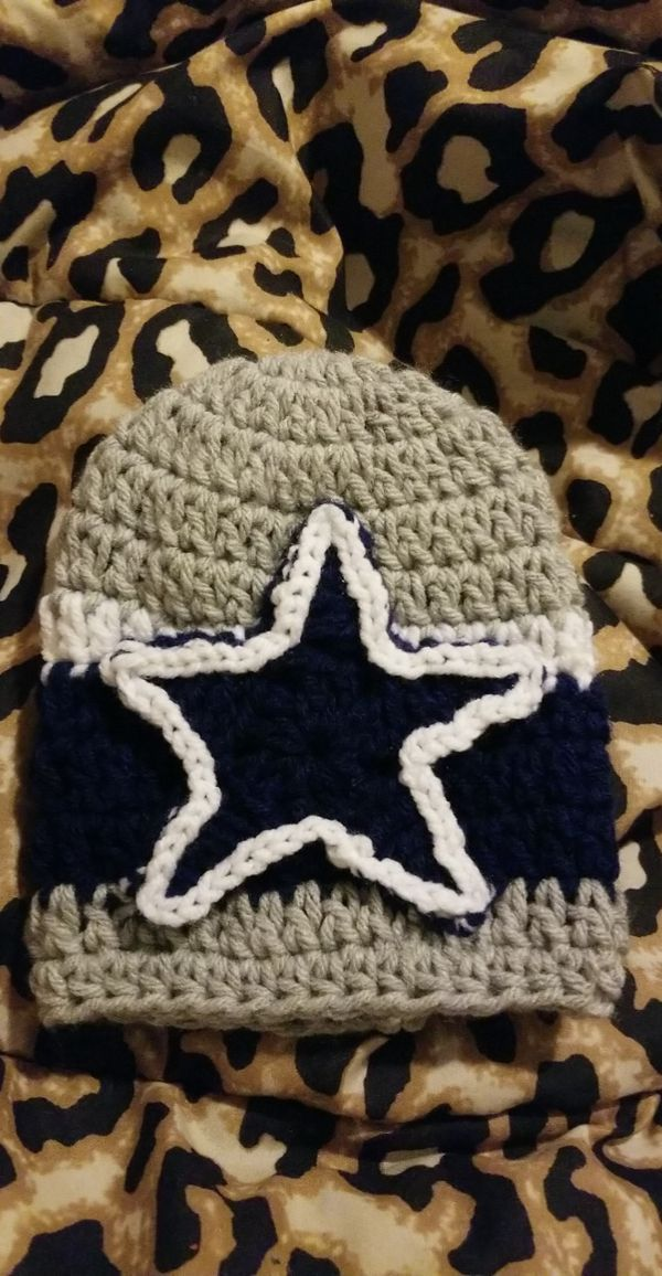 purchase cheap fbb17 00aa8 Baby newborn dallas cowboys beanie for Sale in Houston, TX - OfferUp