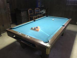 Brunswick buckingham pool table for Sale in Washington, DC