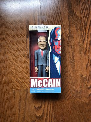 John mc Cain action figure doll collectible! for Sale in Weston, FL
