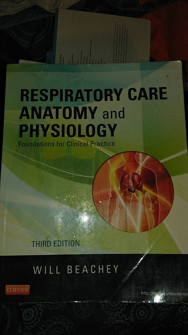 Respiratory Care Anatomy Physiology for Sale in Orlando, FL - OfferUp