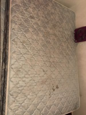 Full size bed and box spring NEED GONE for Sale in Salt Lake City, UT