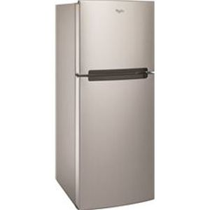 Whirlpool 11 cubic stainless steel fridge for Sale in San Francisco, CA