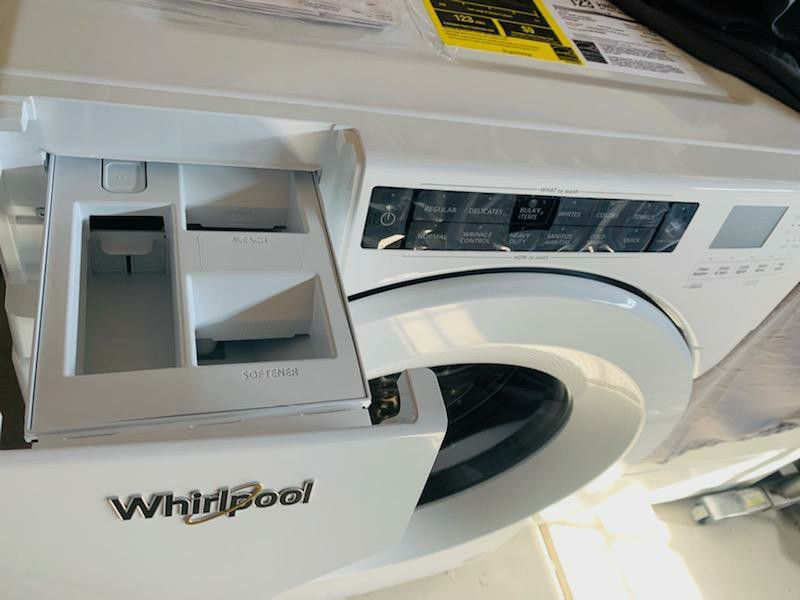 4.5 cu ft Whirlpool High Efficiency Front Load Washer