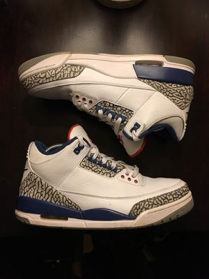 Nike air Jordan true blue 3 for Sale in Capitol Heights, MD