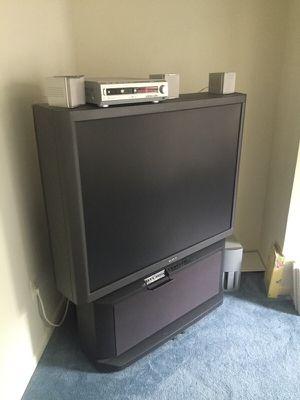 """52"""" TV $50 for Sale in Fairfax, VA"""