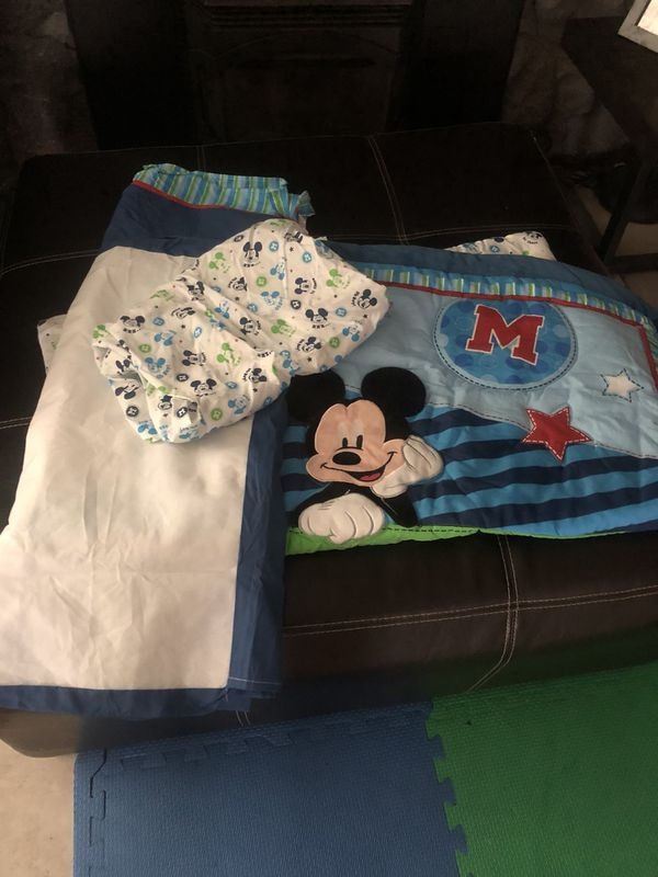 405a3059e2 Disney Mickey Mouse Crib Bedding Set for Sale in Fairfield