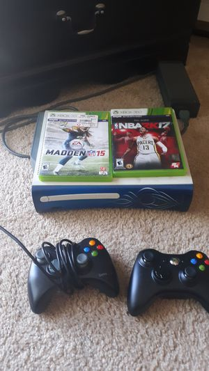 360 and controllers and games for Sale in Auburn, WA