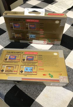 Game and Watch Super Mario Thumbnail