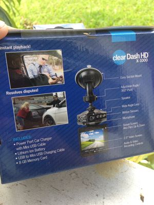 Car Dash Cam Recorder With 8GB Memory Card for Sale in Kissimmee, FL