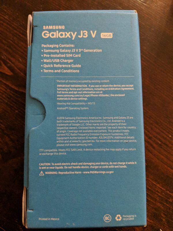 Device Settings Samsung J3