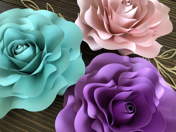 Large Paper Flowers For Party Backdrop For Sale In Spring Tx Offerup