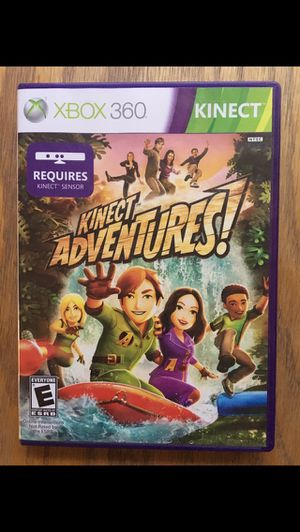 Used, XBOX 360 Kinect Adventures game for sale  Wichita, KS