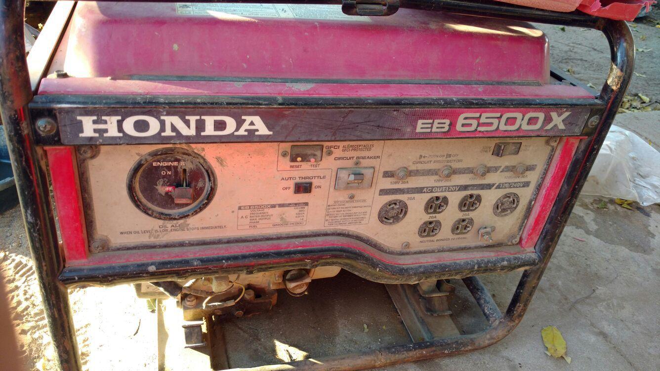 Honda generator eb 6500x