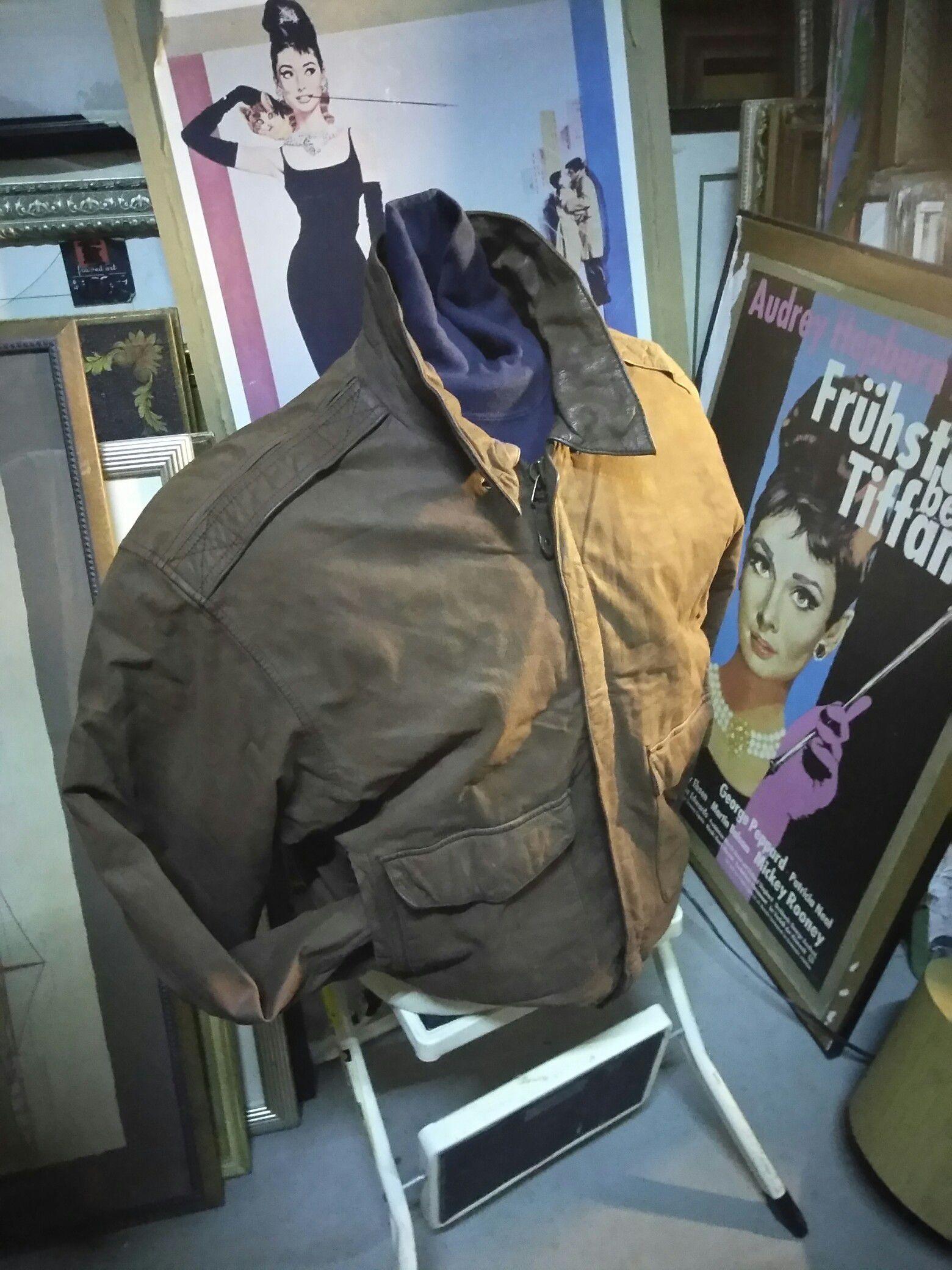 Men's Leather Bomber