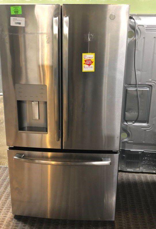 Brand New GE French Door Refrigerator (Model:GFE26JSMSS)