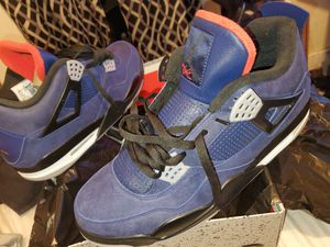 Photo Air Jordan 4 Retro's Size 13. Brand new in the box, never worn.
