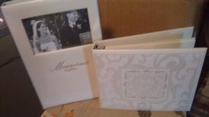 Wedding album and guest book for Sale in New Canton, VA