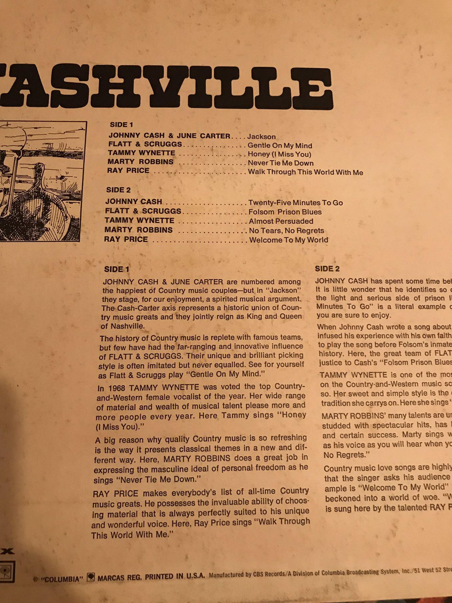 Vinyl record Nashville