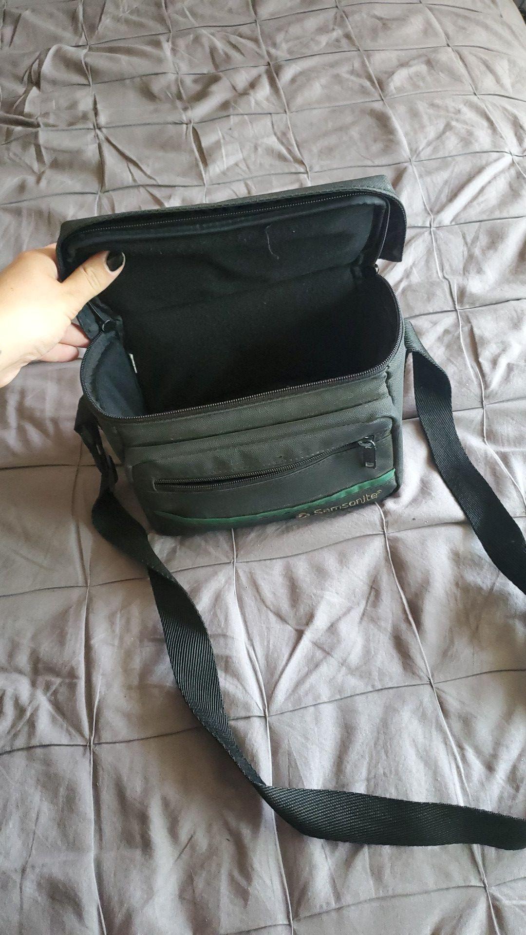 Camera bag, small.