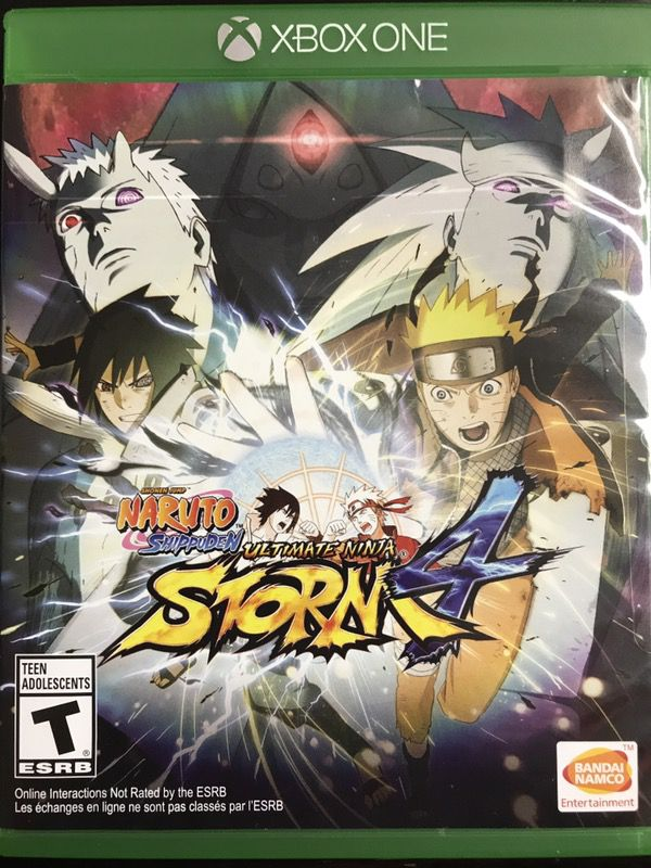 NARUTO SHIPPUDEN ULTIMATE NINJA STORM 4 (XBOX) for Sale in Westminster, CA  - OfferUp