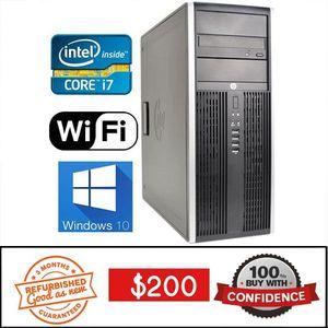 WiFi Intel i7 Quad Core FAST Desktop PC Computer CPU VIDEO EDITING for Sale in Orlando, FL