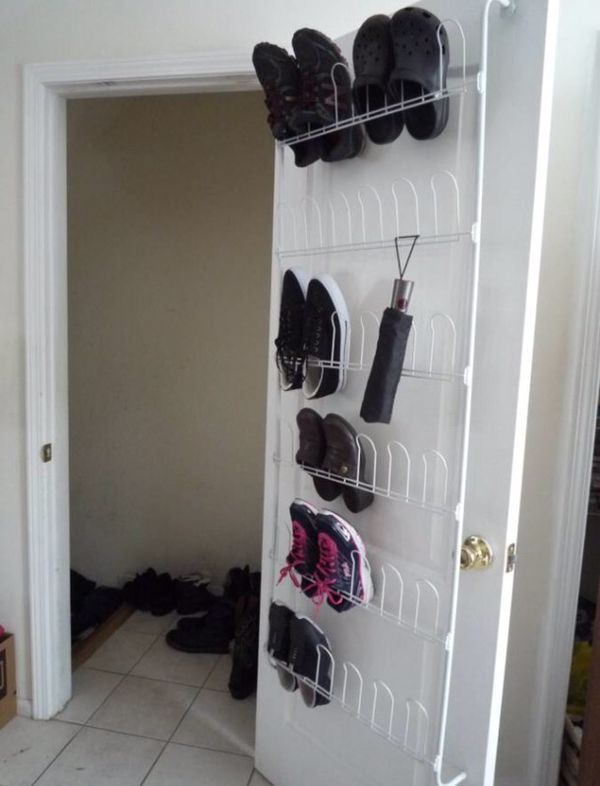 Neu Home Organize It All Over The Door 18 Pair Wire Shoe Rack 17701 For In Toms River Nj Offerup