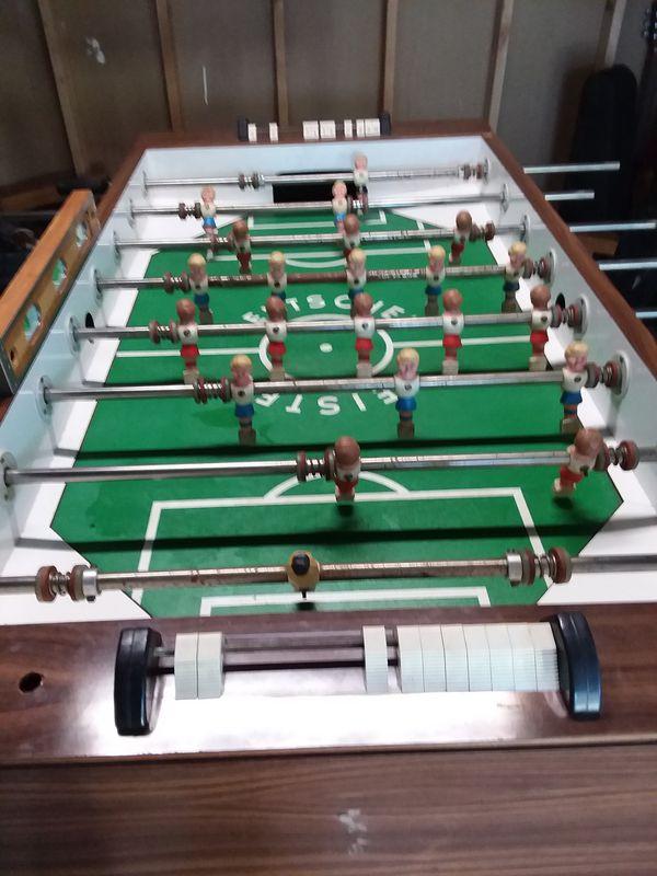 Deutscher Meister Foosball West German Foosball Table For Sale In - Deutscher meister foosball table