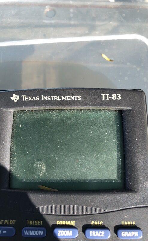 Texas Instruments TI-83 Calculator