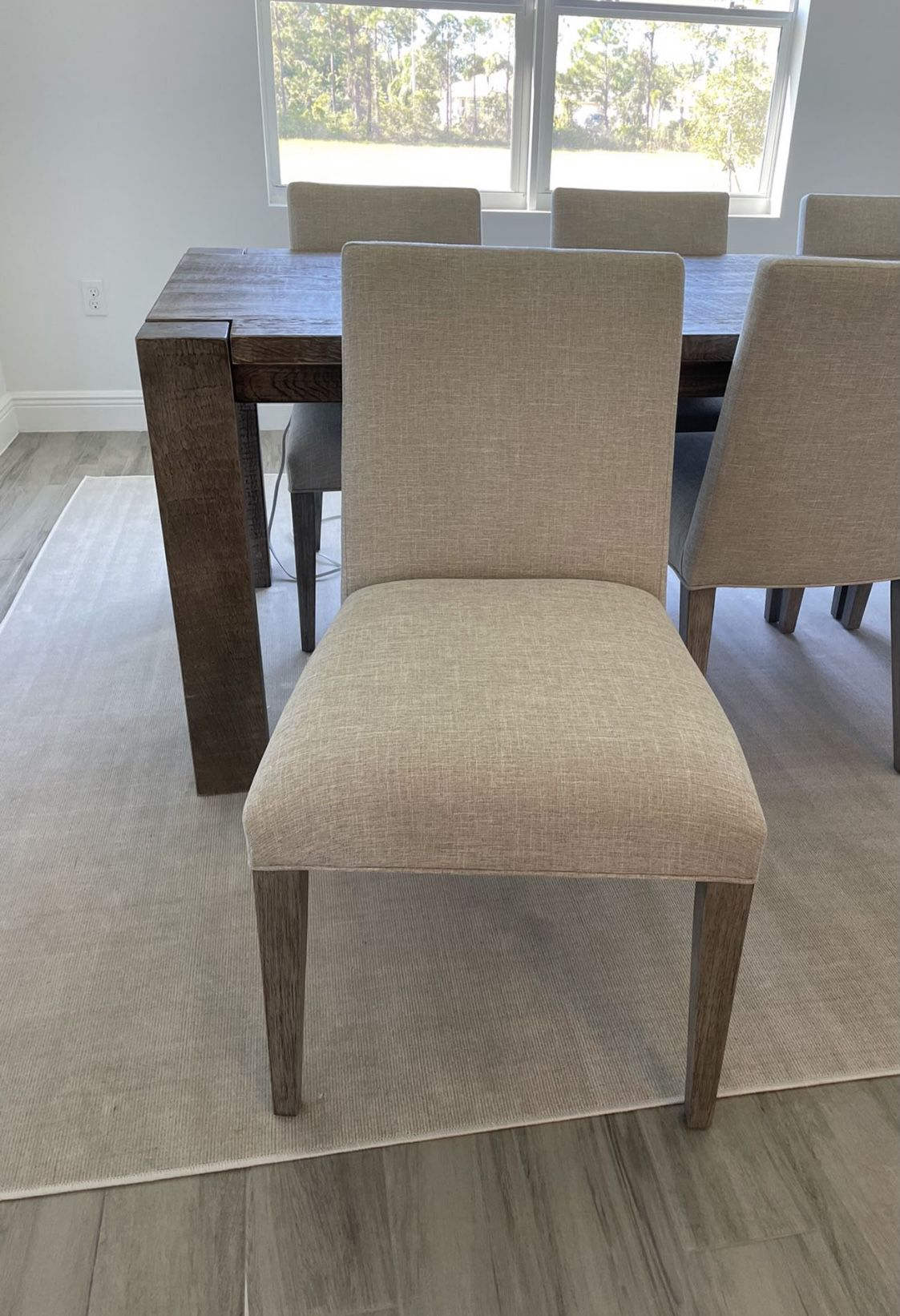 2 Modern Dining Chairs