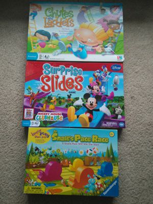 Toddler board games for Sale in Oakton, VA