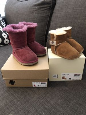 acdef399883 New and Used Toddler ugg boots for Sale - OfferUp