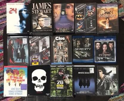 DVDs some Box Sets some New and sealed just $3 each