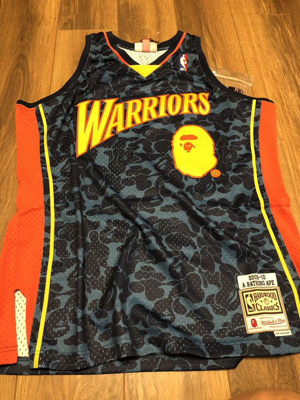 01fad065 XL golden state warriors Bape jersey for Sale in Anaheim, CA - OfferUp