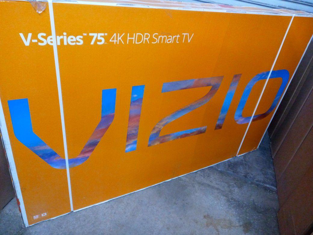 "75"" vizio 4k smart hd led tv"