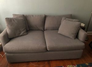 Crate and barrel lounge couch for Sale in Alexandria, VA