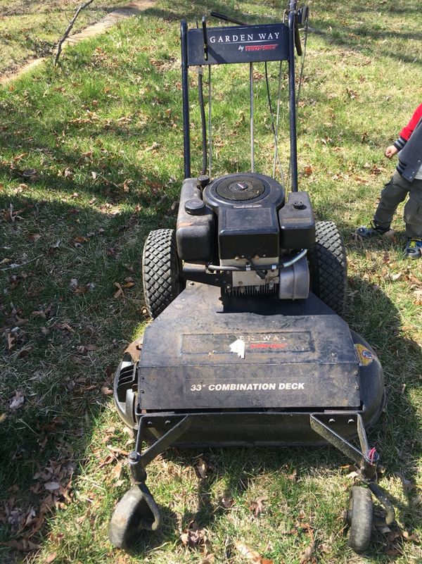 troy bilt lawn mower for in indian head md offerup
