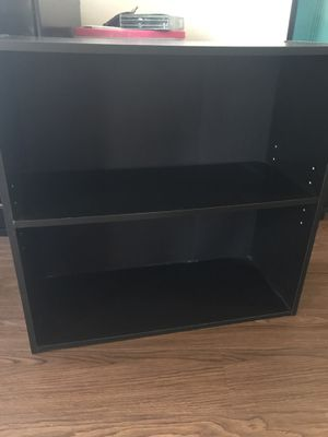 Black Wood 2 Shelf or TV Stand for Sale in Washington, DC