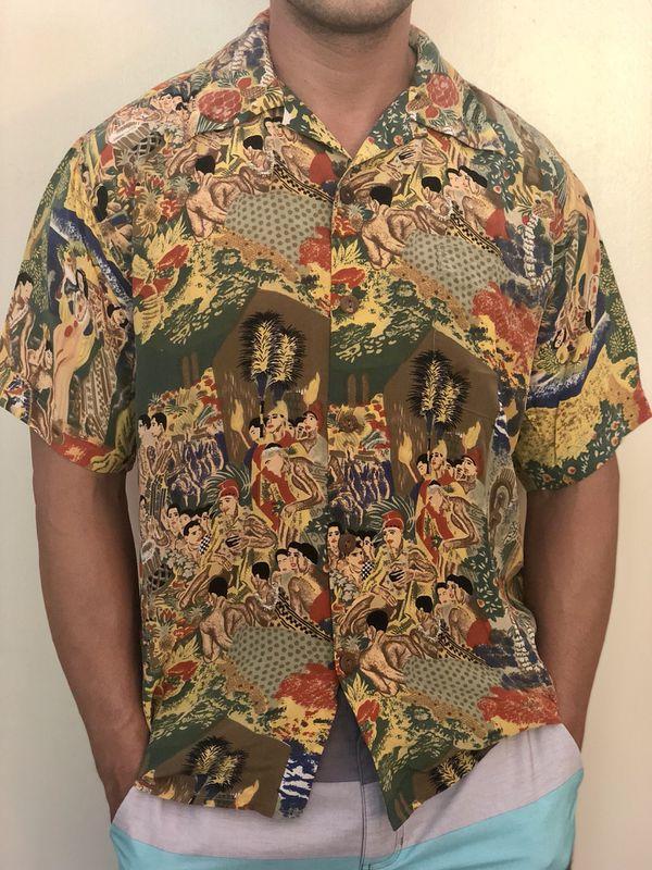 695076c3 Avanti Aloha Hawaiian shirt Silk Vintage for Sale in Los Altos, CA ...