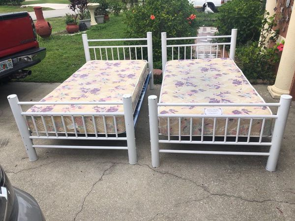 2 Kids Twin Bed With Mattress For Sale In Fort Myers Fl Offerup