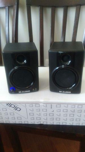 M-AUDIO Studiophile AV30 Professional Reference Studio Speakers for Sale in Fairfax, VA