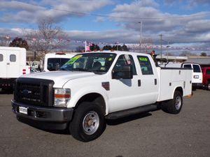 2010 Ford F350 super duty crew cab service body 4X4 diesel for Sale in Manassas, VA