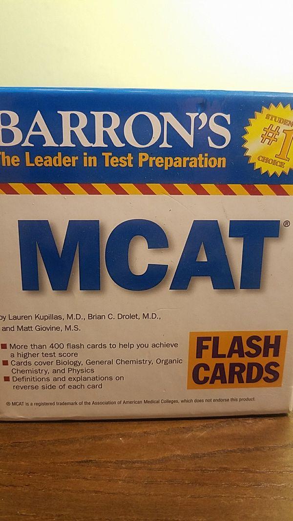 Barrons Mcat Flashcards For Sale In North Bergen Nj Offerup