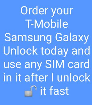 Samsung only Unlock Services for Sale in Silver Spring, MD