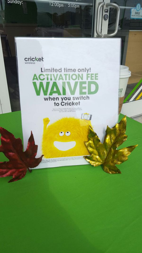 FREE smartphone & FREE activation at Cricket for Sale in Danville