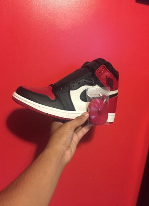 big sale e4514 f4040 Air Jordan 1 Bred Toe size 8 for Sale in Woodbridge, CT - OfferUp
