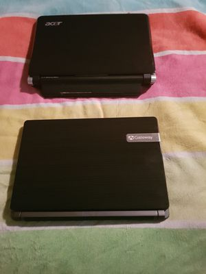 2 laptops mini for the price of one 256gb 4gb of ram booth in amazing condition with charger for just 140 for booth for Sale in Altamonte Springs, FL